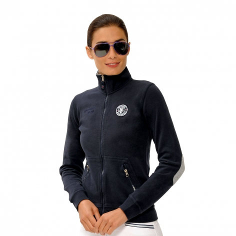 Spooks Navy Sweat Jacket