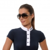 Navy Show Jumping Shirt