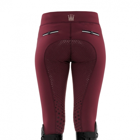 Spooks Burgundy Riding Leggings