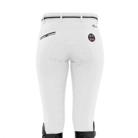Spooks White Riding Breeches