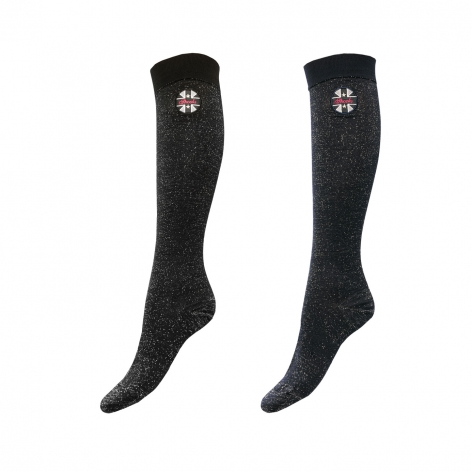 Spooks Glitter Riding Socks