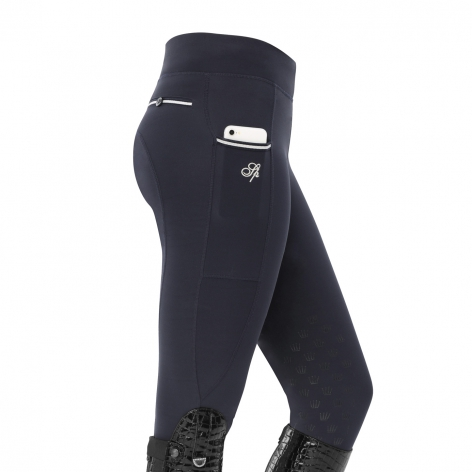 Spooks Navy Riding Leggings