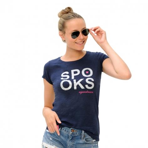 Spooks Isahbella Navy T-Shirt