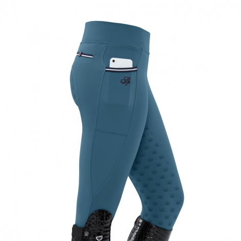 Blue Spooks Riding Leggings