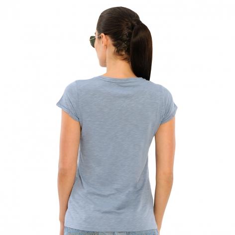 Fabie T-Shirt - Dusty Blue Image 3