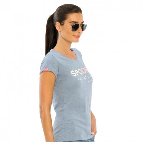 Fabie T-Shirt - Dusty Blue Image 4