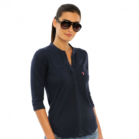 Spooks Eliza Navy Shirt