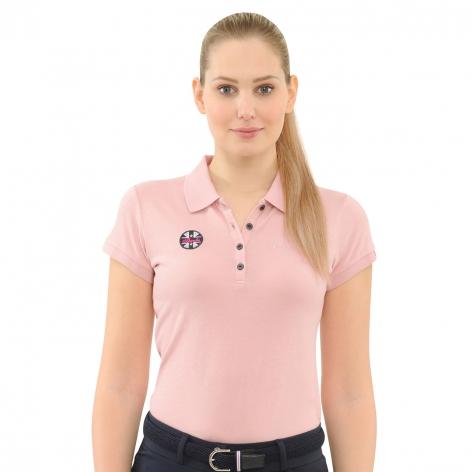 Spooks Pink Polo Shirt