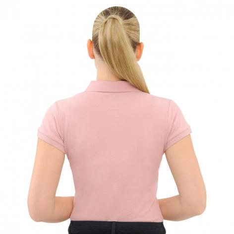 Evi Polo Shirt - Dusty Rose Image 3