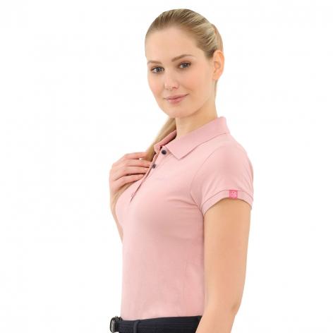 Evi Polo Shirt - Dusty Rose Image 4