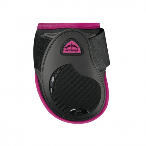 Young Jump Vento Fetlock Boots Colour Edition - Black/Pink