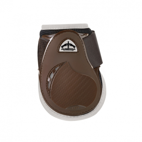 Young Jump Vento Fetlock Boots - Brown/Ivory