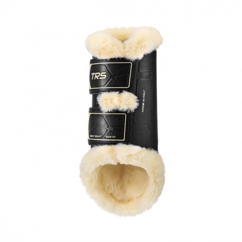 Sheepskin Brushing Boots