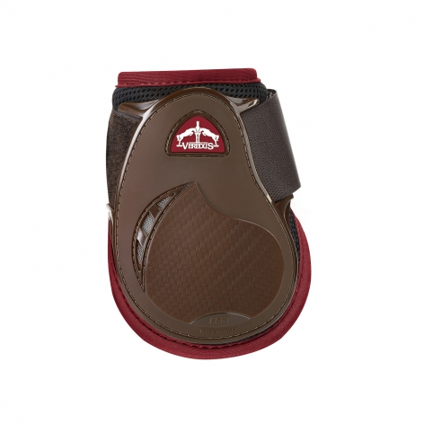 Young Jump Vento Fetlock Boots - Brown/Bordeaux