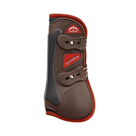 Olympus Tendon Boots - Brown/Red