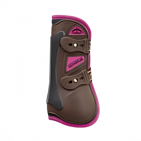 Olympus Tendon Boots - Brown/Pink