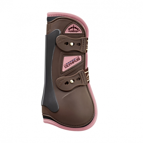 Olympus Tendon Boots - Brown/Light Pink