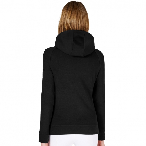 Avoriaz Hooded Sweater - Black Image 3