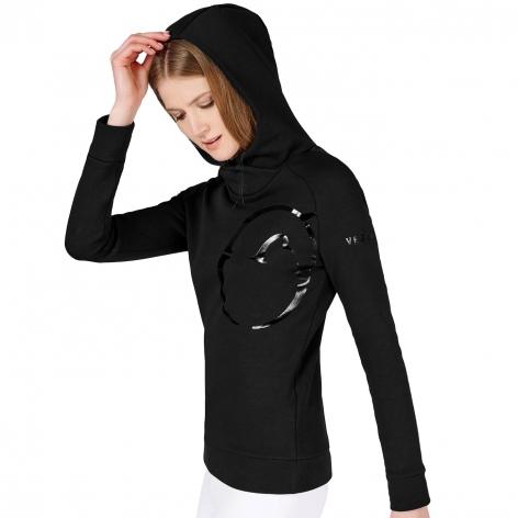 Avoriaz Hooded Sweater - Black Image 4